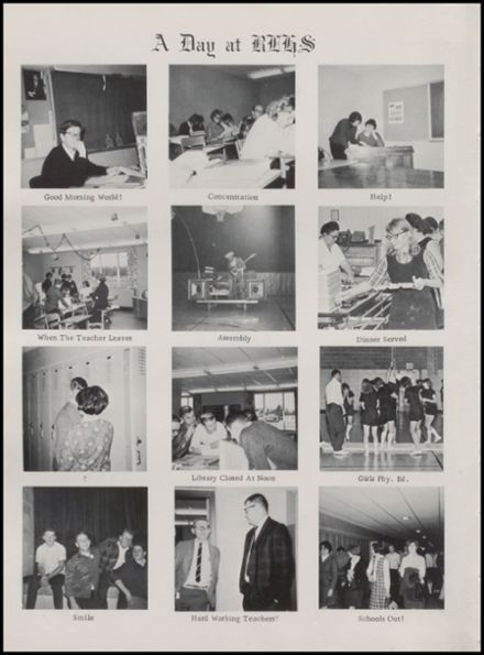 1968 Rib Lake High School Yearbook Page 6