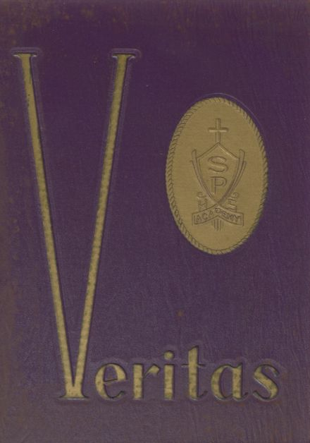 1968 St. Peter's Academy Yearbook Cover