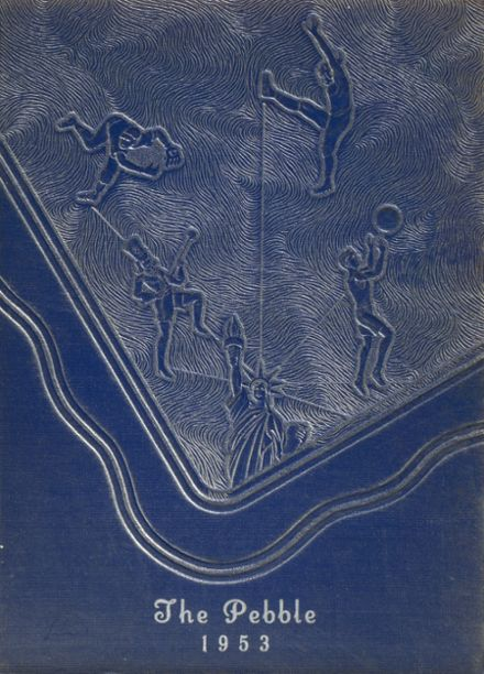 1953 New Cumberland High School Yearbook Cover