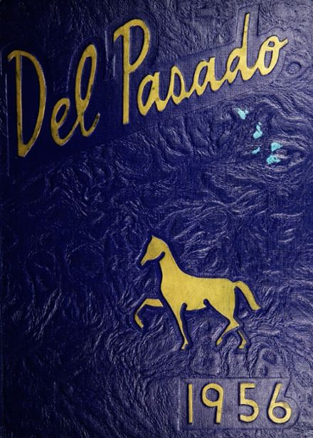 1956 Grant Union High School Yearbook Cover
