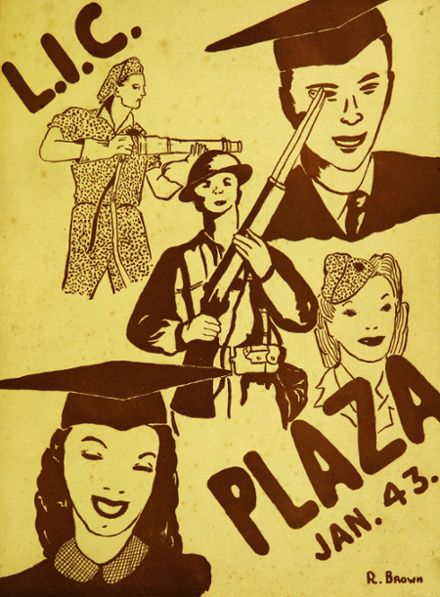 1943 Long Island City High School Yearbook Cover