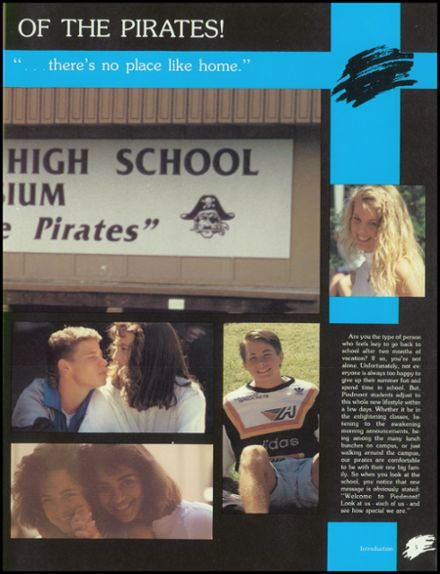 1989 Piedmont Hills High School Yearbook Page 9