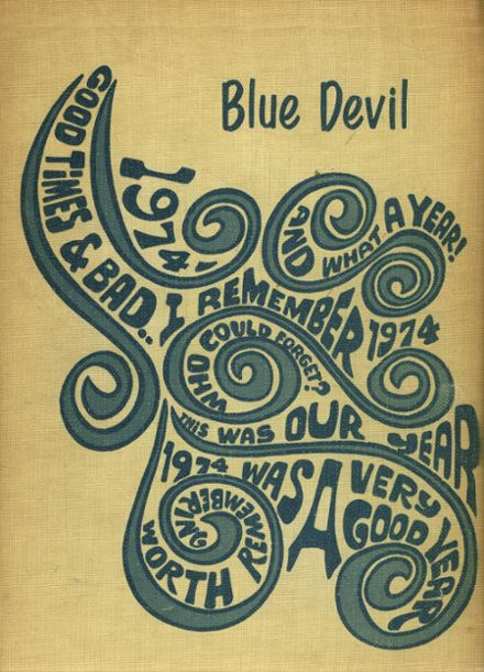 1974 Cordell High School Yearbook Cover