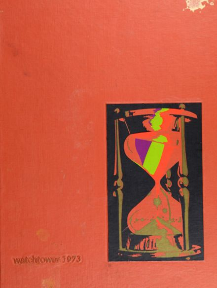 1973 Beverly Hills High School Yearbook Cover