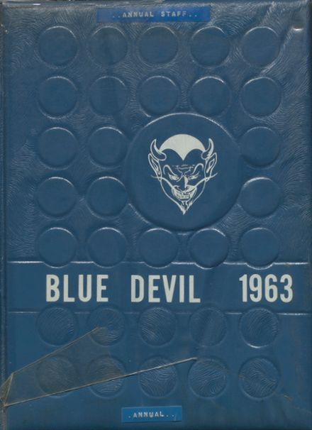 1963 Ringling High School Yearbook Cover
