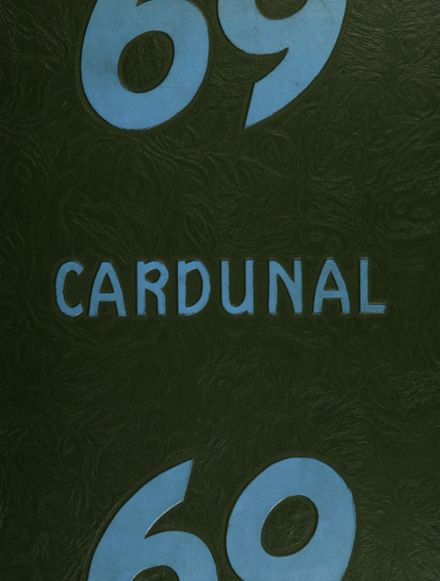 1969 Dundee Community High School Yearbook Cover
