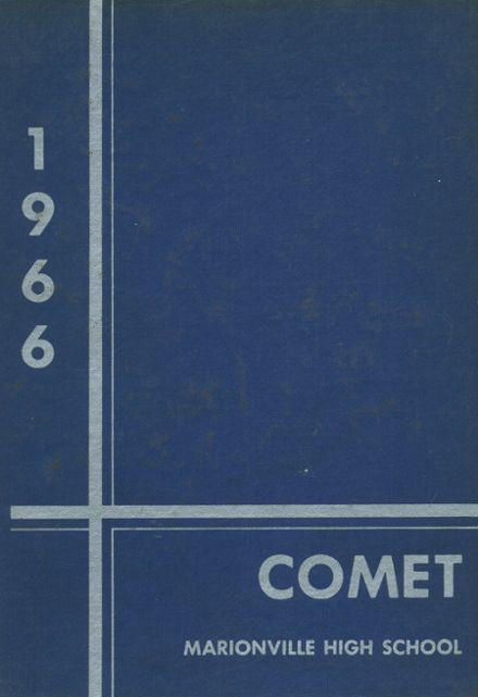 1966 Marionville High School Yearbook Cover