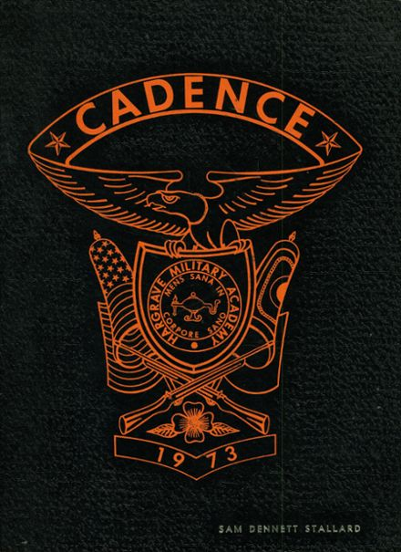 1973 Hargrave Military Academy Yearbook Cover