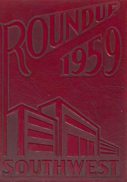 1959 Southwest High School Yearbook Cover