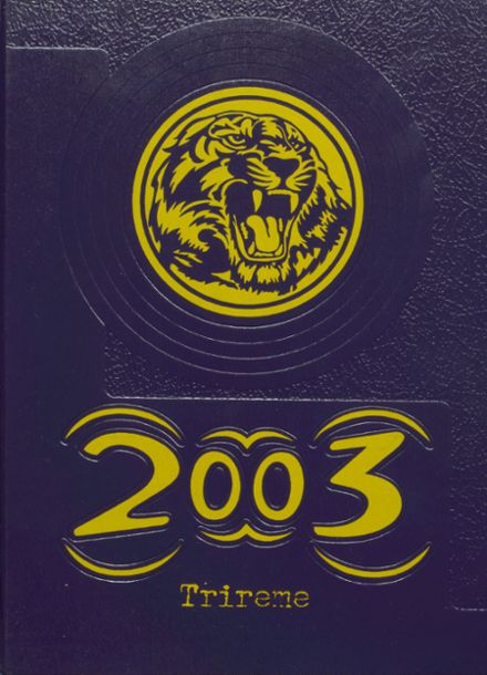2003 Ford City High School Yearbook Cover
