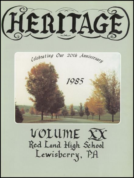 1985 Red Land High School Yearbook Page 5