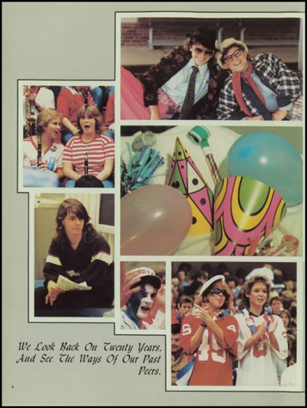 1985 Red Land High School Yearbook Page 8