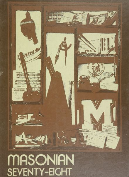 1978 Mason City High School Yearbook Cover