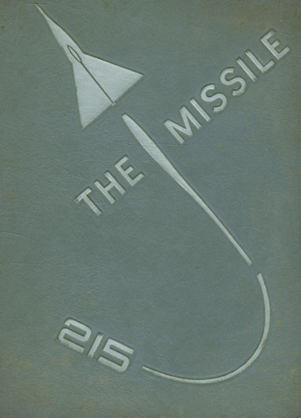 1961 Central High School Yearbook Cover