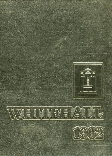 1962 Whitehall High School Yearbook Cover