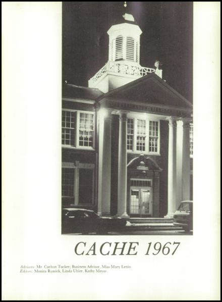1967 Washington High School Yearbook Page 5