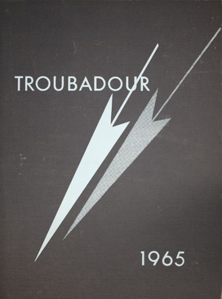 1965 Catholic High School of Baltimore Yearbook Cover