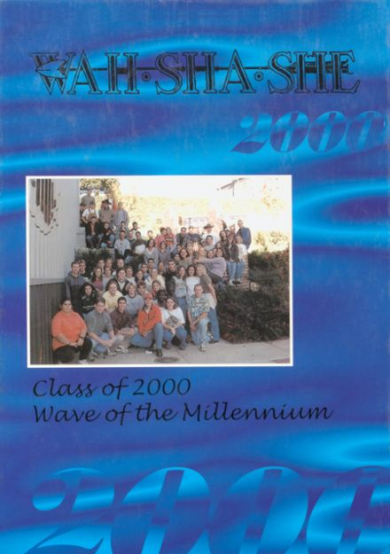 2000 Pawhuska High School Yearbook Cover