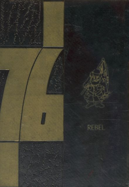 1976 Ore City High School Yearbook Cover