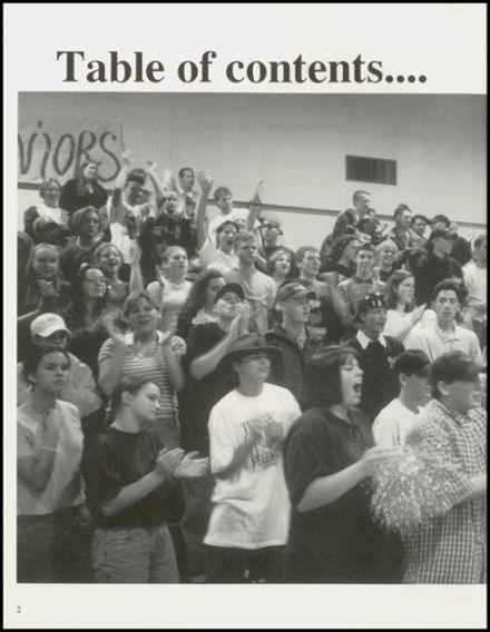 1996 Arlington High School Yearbook Page 6