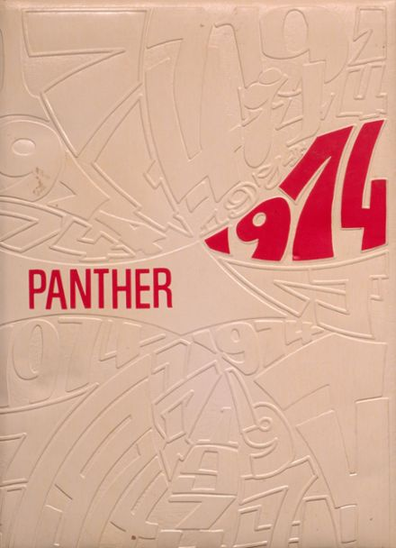 1974 Granite High School Yearbook Cover