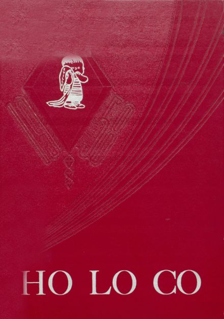 1958 Estherville High School Yearbook Cover
