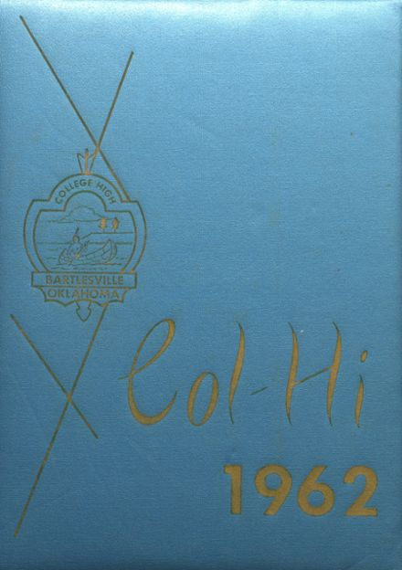 1962 College High School Yearbook Cover