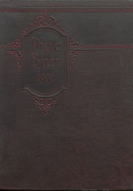 1931 Weiser High School Yearbook Cover