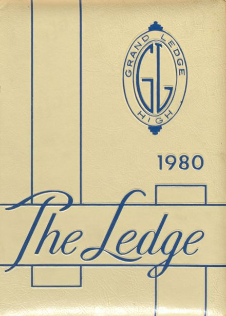 1980 Grand Ledge High School Yearbook Cover