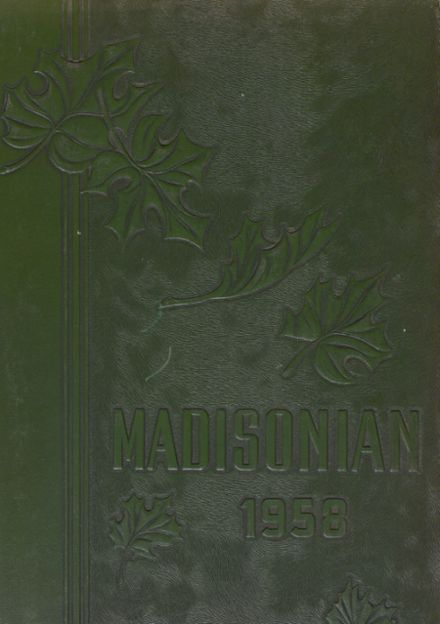 1958 Groveport Madison High School Yearbook Cover