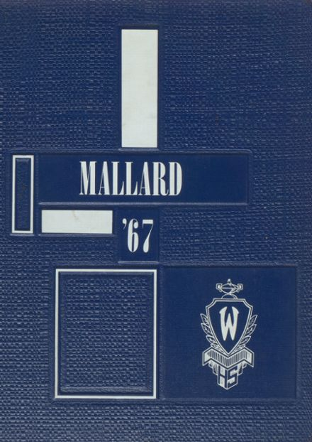 1967 Wheaton High School Yearbook Cover