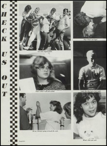 1988 Hardesty High School Yearbook Page 6