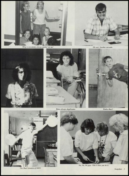 1988 Hardesty High School Yearbook Page 7