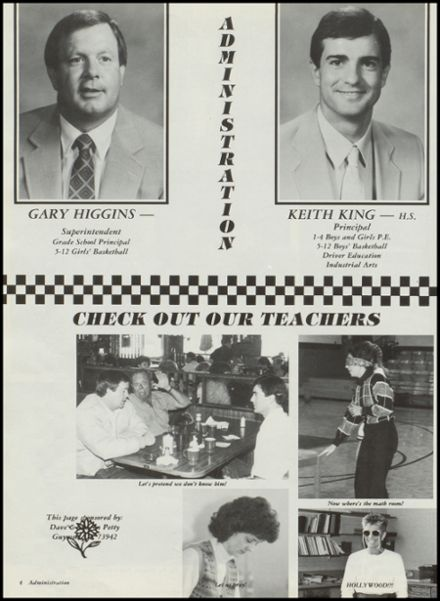 1988 Hardesty High School Yearbook Page 8