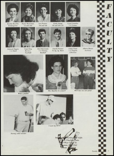 1988 Hardesty High School Yearbook Page 9