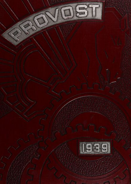 1939 Provo High School Yearbook Cover