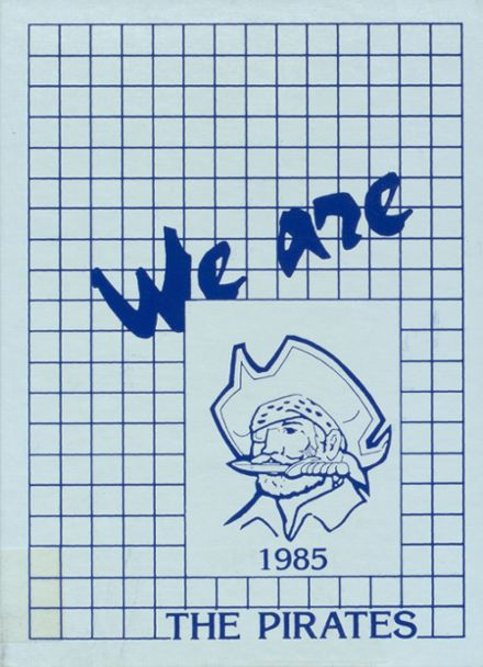 1985 Dover High School Yearbook Cover