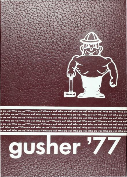 1977 Columbia High School Yearbook Cover