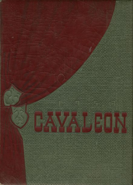 1953 Coral Gables High School Yearbook Cover