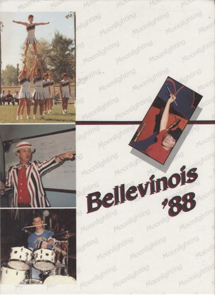 1988 Belleville Township West High School Yearbook Cover