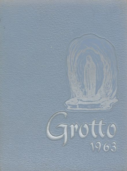 1963 Our Lady of Lourdes High School Yearbook Cover