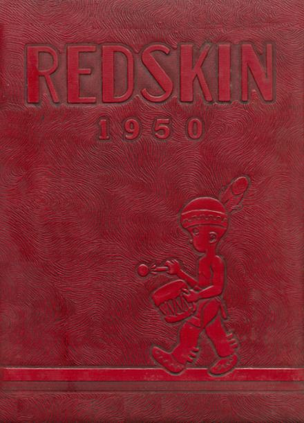 1950 Union High School Yearbook Cover