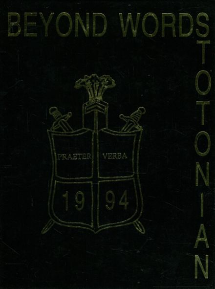 1994 Stoughton High School Yearbook Cover
