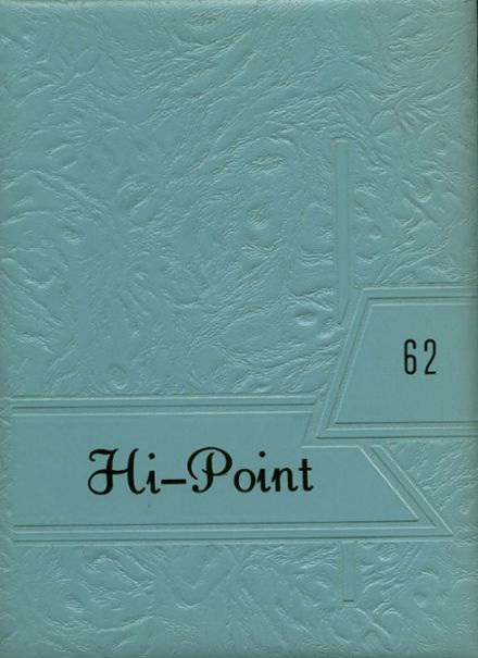 1962 Meyersdale Area High School Yearbook Cover