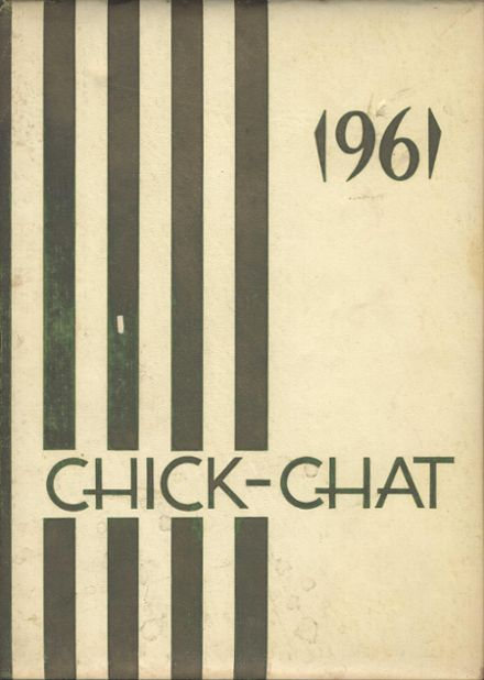 1961 Chickasha High School Yearbook Cover