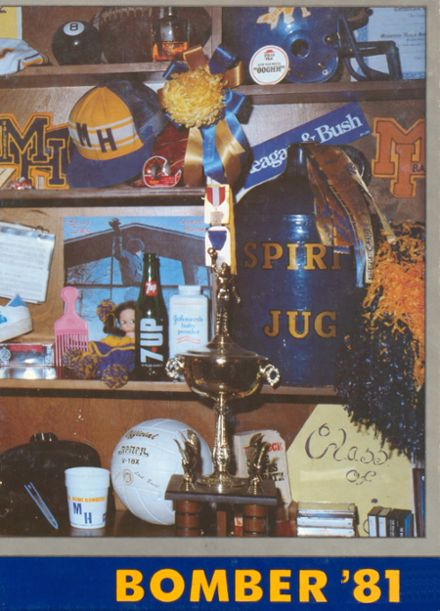 1981 Mountain Home High School Yearbook Cover