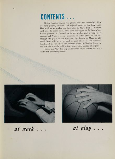 1954 St. George High School Yearbook Page 9