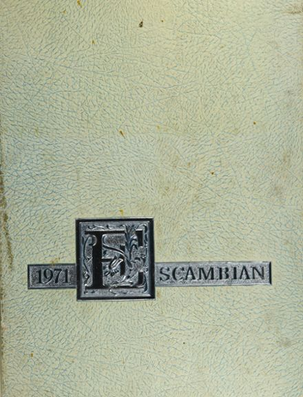 1971 Escambia High School Yearbook Cover