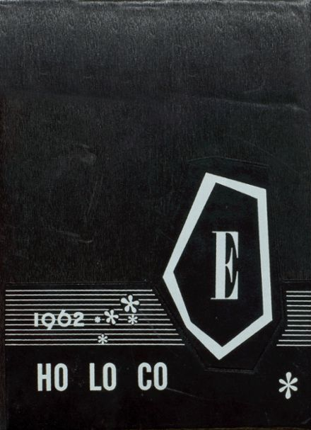 1962 Estherville High School Yearbook Cover