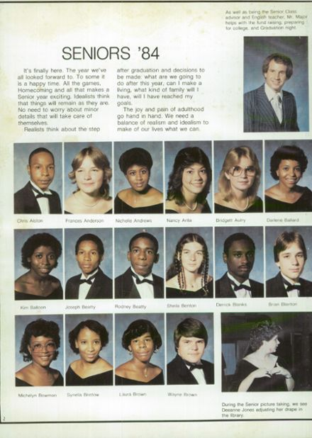 Explore 1984 North Brunswick High School Yearbook Leland Nc